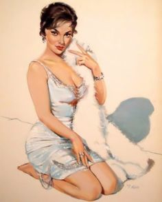 Vintage Pin Up Girls Retro Burlesque Erotic Prints & Posters Sizes 50s Pin Up, Pin Up Girl Vintage, Calendar Girls, Badass Women, Pin Up Art, Lady And Gentlemen, Popular Culture, Pin Up Girls, Burlesque