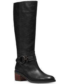 COACH Carolina Riding Boots - Boots - Shoes - Macy's