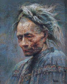 by Luo Zhongli, Chinese naturalist painter