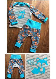 ♡ Schnittmuster Kid5: Hose Monkey Pants,  Oberteil Basic Shirt