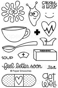 Paper Smooches Healthy Vibes