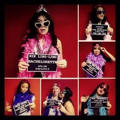 bachelorette party photo booth props - Buscar con Google