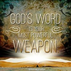 Hebrews 4:12 ~ For the word of God is quick, and powerful, and sharper than any twoedged sword, piercing even to the dividing asunder of soul and spirit, and of the joints and marrow, and is a discerner of the thoughts and intents of the heart.