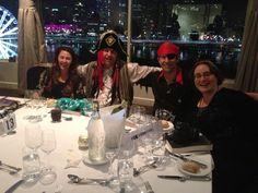 GenreCon 2013: At the Cutlasses and Kimono's banquet.
