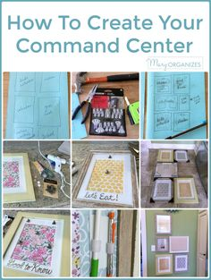 Do you spend too much time running around looking for your keys, bills, party invitations, kids' school papers, pens, your to-do lists, or any other items that you need to keep your home running smoothly? We are working on making ourselves a Command Center this week. Imagine how awesome it would be to have everything organized and in one place (or even SEVERAL places if you wanted more than one command center). It's easy and I'll walk you through step by step. What are you waiting for?