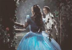 Cinderella and the prince (gif) 2015 Cinderella 2015, Cinderella Live Action, Cinderella Movie, Disney And Dreamworks, Disney Pixar, Walt Disney, Disney Love, Disney Magic, Ben Chaplin