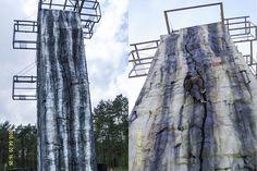 Assen Tower - Walltopia - Climbing walls Climbing Wall, Arch, Tower, Walls, Outdoor, Sport, Studio, Outdoors, Lathe