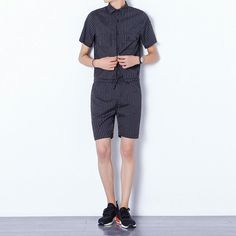 100% Cotton Striped Belt Jumpsuit Men Nightclub Slim Fit Rompers Fashion Hip Hop Overalls Male Summer 2019 Straight Trouser Comfortable And Easy To Wear Overalls