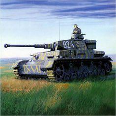 Panzer IV Ausf. F2 «numero tactico 924», 204. Panzer-Regiment, 22.ª Panzerdivision al sur de Rusia durante la Operación Fall ''Blau'' (Operación Azul), julio de 1942. Arkadiusz Wróbel.