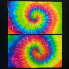 Set of Custom Made Neon Rainbow Tie Dye Pillowcases Tie Dye Bedding, Bedding Shop, Neon Rainbow, Rainbow Colors, Tie Dye Tapestry, Spiral Tie Dye, Pillowcases, King Size, Detroit