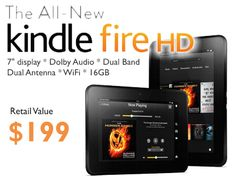 If we're one of the first 80 CudaBall cards to fill, one of us could win the Amazon Kindle Fire HD for FREE!