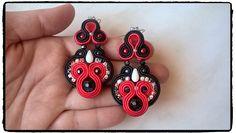 """Soutache earrings """"Glossy"""" :-)"""