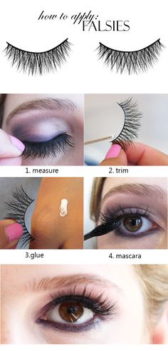 How to apply Falsies