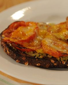 Open-Faced Roasted Tomato and Olive Tapenade Melt - Martha Stewart Recipes