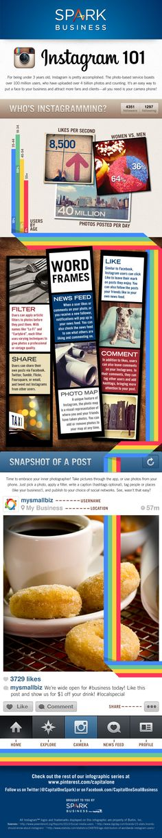 See how @Instagram makes photo sharing for biz a snap w/this week's #socialmedia #infographic