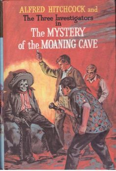 Alfred Hitchcock and The Three Investigators #10 Mystery of the Moaning Cave -HB