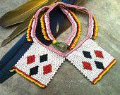 ZULU love letter beadwork necklace