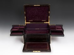 Betjemann Coromandel Jewellery Box - Hampton Antiques