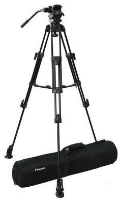 Fancier Heavy Duty Video Camcorder Tripod Fluid Drag Head Kits FC270 #Fancier