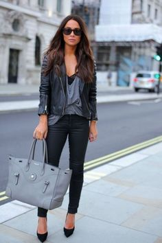 women-leather-jackets-2017-44 80 Most Stylish Leather Jackets for Women in 2017