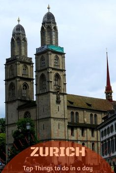Zurich Switzerland Travel | Things to do in Zurich - 11 top things to do on your visit to Zurich Switzerland.