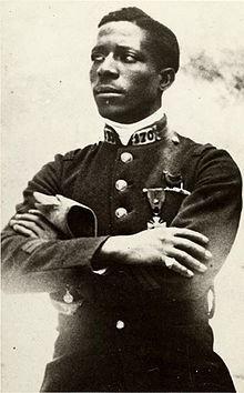 Eugene Bullard - the first African American fighter pilot.
