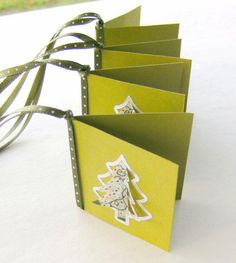 Christmas Holiday Gift Tags Dimensional Trees $2.00