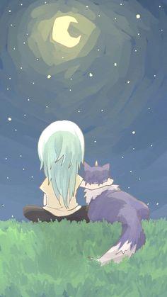 Tensei shitara slime datta ken by settsun Ken Anime, Anime Girl Neko, Otaku Anime, Manga Anime, Anime Art, Anime Backgrounds Wallpapers, Animes Wallpapers, Cute Wallpapers, Slime Wallpaper