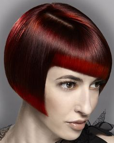 Double Impact by Anne Veck #red  ||  ModernSalon.com