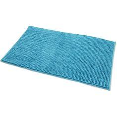 Wilko Bath Micro Mat Aqua Blue 50 x 80cm ($6.46) ❤ liked on Polyvore featuring home, bed & bath, bath, bath rugs, aqua bath mat, aqua mat, aqua rug bath mat and aqua bathroom rugs