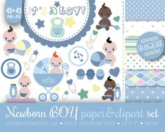 Check out this item in my Etsy shop https://www.etsy.com/listing/151600519/43-newborn-baby-shower-clipart-paper-85