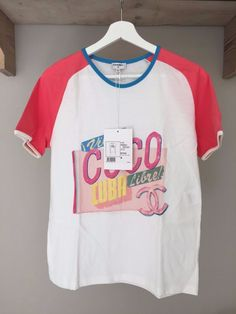 Chanel T-shirt size M coco cuba libre collection 2017 #CHANEL #BasicTee