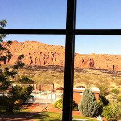 View from the Spa at Red Mountain Resort.