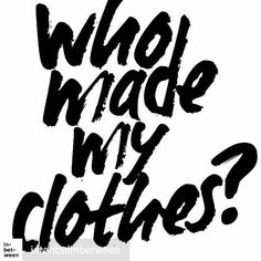 @Regrann from @istanbulinbetween -  Every year on the 24th April's week which is the anniversary of Rana Plaza disaster Fashion Revolution (@fash_rev) encourages people to ask one question to their favorite clothing companies. #WhoMadeMyClothes aims to draw attention to working conditions of garment workers all over the world and demands greater transparency in the supply chain of fashion industry.  So who made your clothes?  Read the article about Fashion Revolution Week by Fashion…