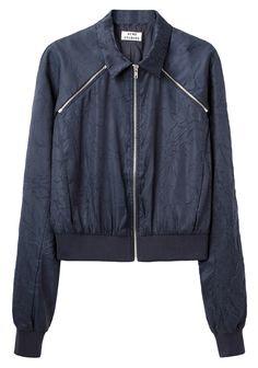 Acne / Blanche Crinkle Jacket