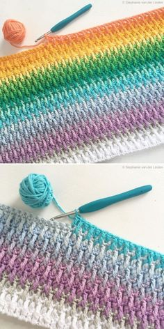 Alpine Stitch by Stephanie Linden Knitting TechniquesKnitting HatCrochet Project. Alpine Stitch by Stephanie Linden Knitting TechniquesKnitting HatCrochet ProjectsCrochet Stitches # Crochet Afghans, Crochet Stitches Patterns, Baby Blanket Crochet, Knitting Patterns, Free Knitting, Diy Crochet Blankets, Knitting Beginners, Crochet Bedspread Pattern, Baby Afghan Patterns