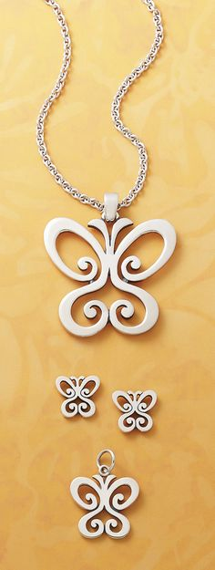 Spring Butterflies from #jamesavery