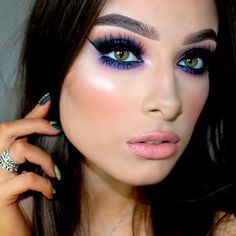 Gorgeous Makeup: Tips and Tricks With Eye Makeup and Eyeshadow – Makeup Design Ideas Hazel Eye Makeup, No Eyeliner Makeup, Eye Makeup Tips, Makeup Ideas, Makeup Tutorials, Eyeshadow, Hair Makeup, Prom Makeup, Sexy Makeup