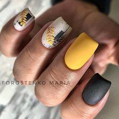 Fabulous Nails, Perfect Nails, Gorgeous Nails, Cute Nails, My Nails, Matted Nails, Star Nail Art, Fall Nail Art Designs, Nail Tattoo