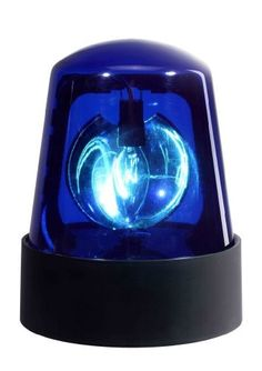 "Visual Effect 7"" Police Beacon Light for Parties & DJs - Blue by Visual Effects. $16.95. Add surprise and excitement to any event with this bright blue police beacon light attention-getter from Visual Effects, Great for entertainment, safety, and emergency applications. This 7"" fixture includes 20-watt bulb. ETL and CETL approved."