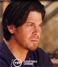 This is Christian Kane actor, singer, songwriter, stuntman, cook!! (screen capped by ladee leverage from the show LEVERAGE)
