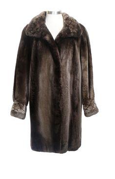 Women's Sheared Rabbit Fur Coat