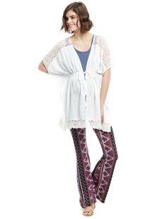 2173eda1473 Motherhood Maternity Jessica Simpson Elbow Sleeve Cocoon Maternity ...