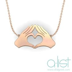 Phi Sig TWYK Necklace - Available in silver, gold and rose gold | Throw What You Know, wherever you go! Shop our sorority hand sign jewelry at www.alistgreek.com