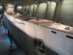 The U-505 in Chigao's Museum of Science & Industry.