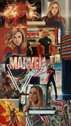 The captain marvel marvel captainmarvel avengers 820992207053075554 Marvel Girls, Marvel Vs, Marvel Heroes, Spiderman Wallpaper 4k, Marvel Wallpaper, Trendy Wallpaper, Marvel Comic Character, Marvel Characters, Marvel Universe