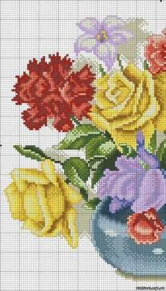 ru / Фото - - giasemi Part Butterfly Cross Stitch, Beaded Cross Stitch, Cross Stitch Borders, Crochet Cross, Cross Stitch Rose, Cross Stitch Flowers, Cross Stitch Designs, Cross Stitching, Cross Stitch Embroidery