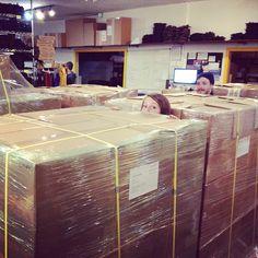 Boxes on boxes! #takashi #LUNAfactory