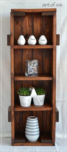 Kistenregal - Speditionskiste - Frachtkiste - wooden crates, palletts