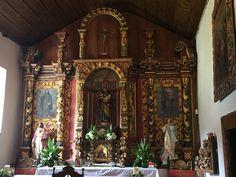 Altar iglesia colonial de orosi